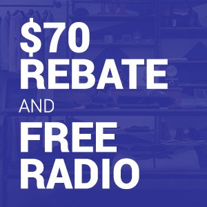 Buy 12 Months of SiriusXM Business Music, Get a Free Radio and $70 Rebate